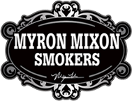 logo: myron mixon smokers